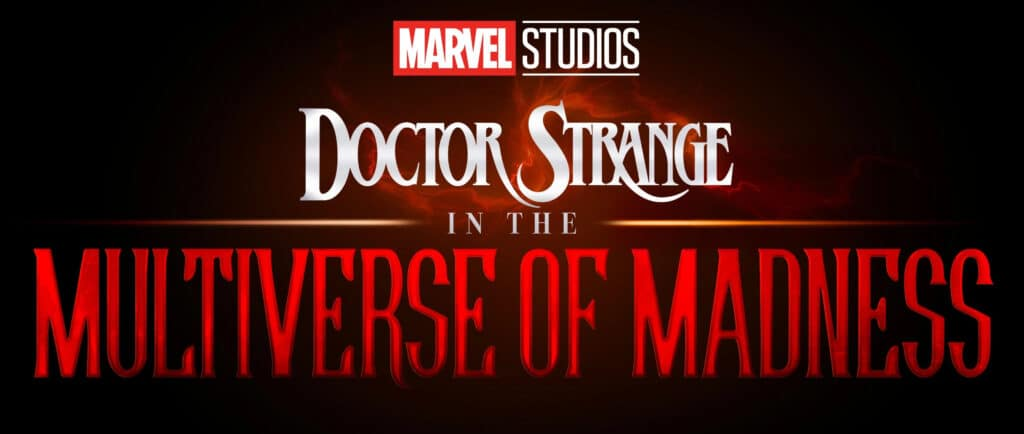 DOCTOR STRANGE IN THE MULTIVERSE OF MADNESS Logo Cropped