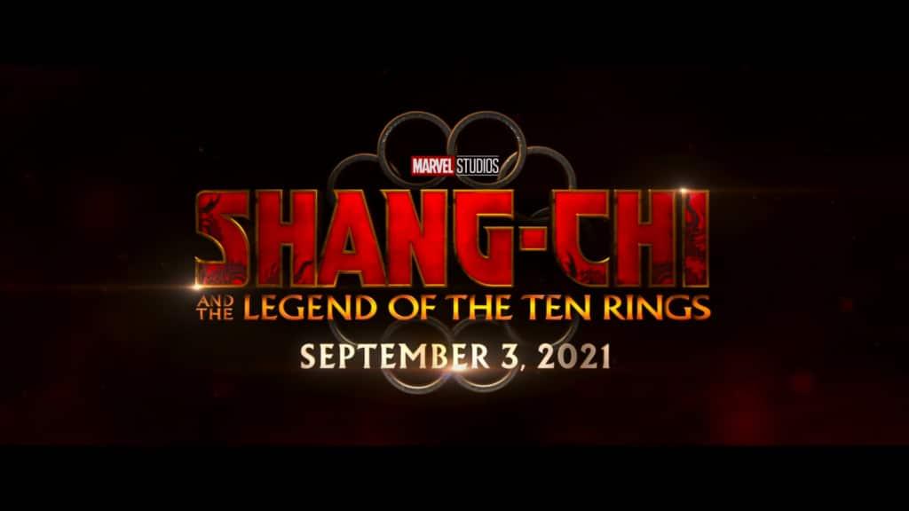 Shang-Chi e a Lenda dos Dez Anéis estreia em setembro de 2021