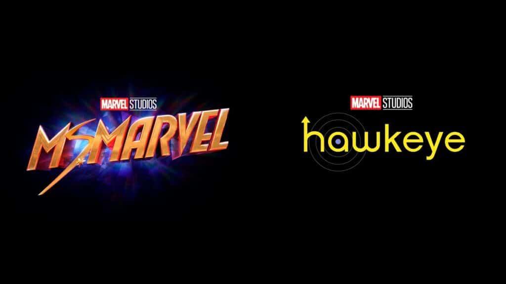 Ms. Marvel  e Gavião Arqueiro(Hawkeye) estreia ainda em 2021