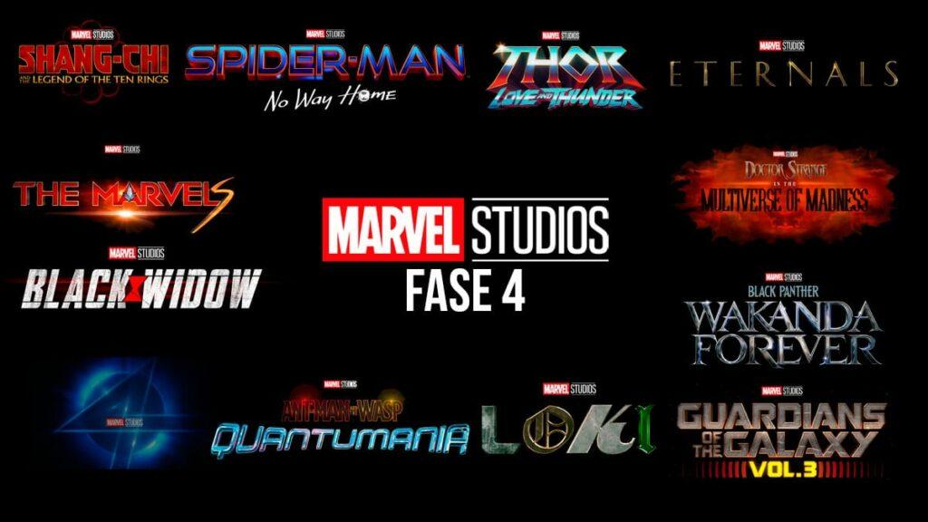 Marvel Studios: Guia definitivo de lançamentos da Fase 4 do MCU