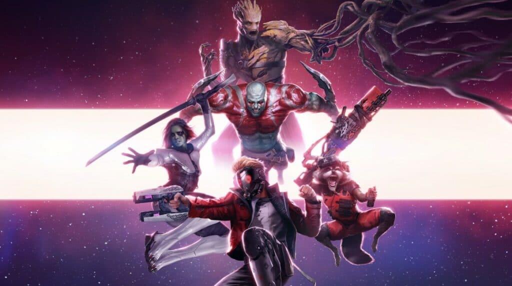 Conheçam o novo jogo dos Guardiões da Galáxia