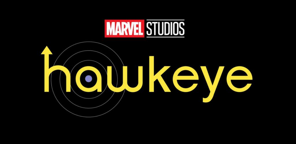 Logo oficial de Hawkeye / Gavião Arqueiro, a nova série do MCU no Disney+
