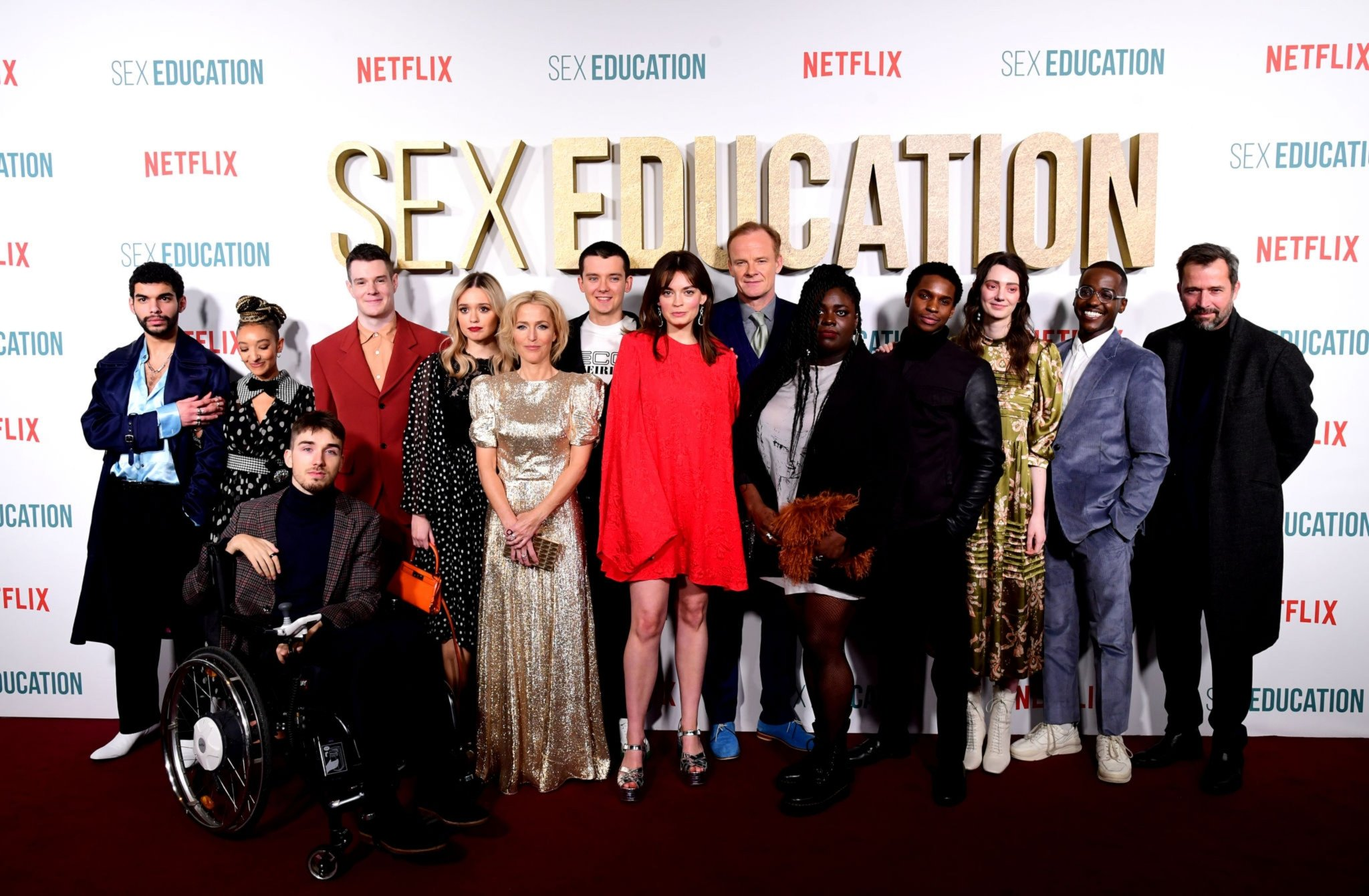 Elenco Sex Education