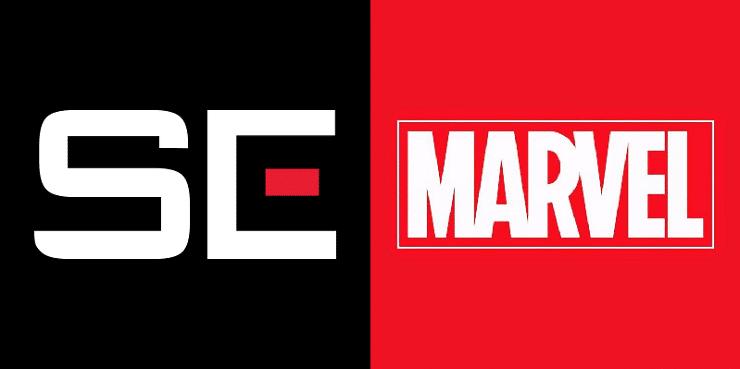 A parceria entre Square Enix e a Marvel
