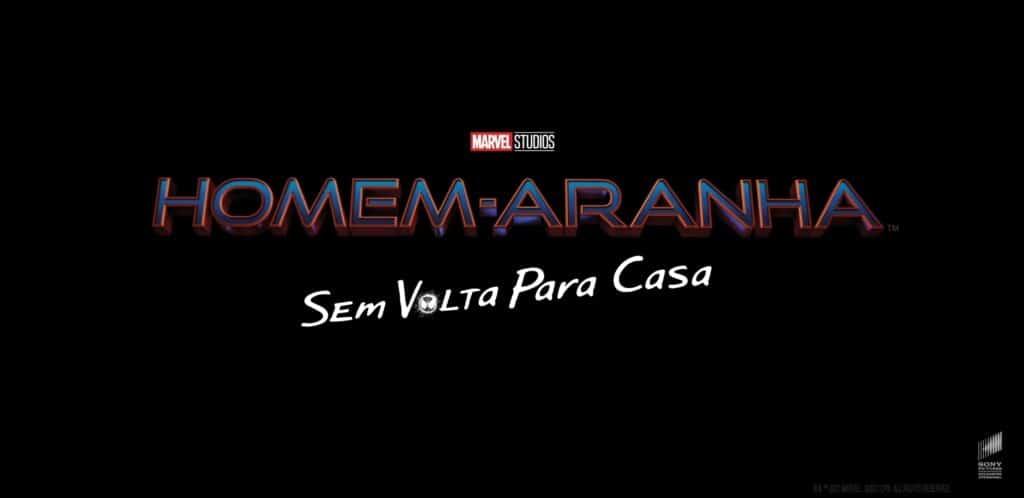 Logo título oficiais de Homem-Aranha: Sem Volta Para Casa do MCU
