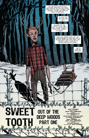 Sweet Tooth Lemire interview 1a