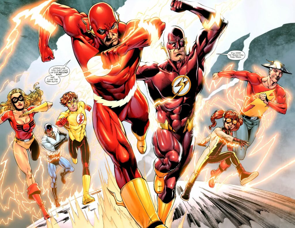 Quem é o 'Flash' e qual é a sua origem?