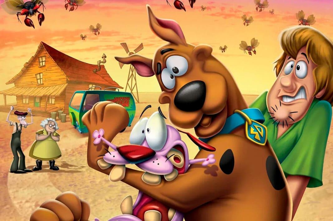 Scooby-Doo e Coragem | Warner anuncia o 1º filme animado de crossover entre dois de seus clássicos