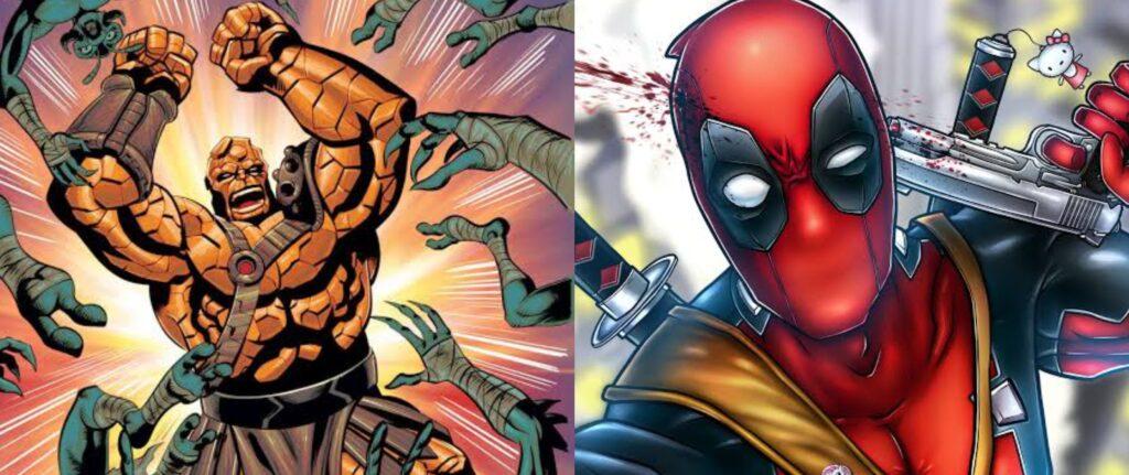 Quem são Deadpool e Korg?