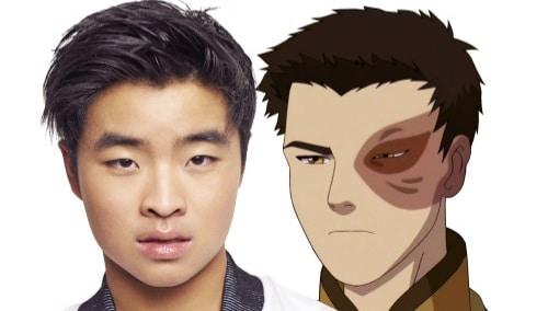 Dallas Liu será Zuko