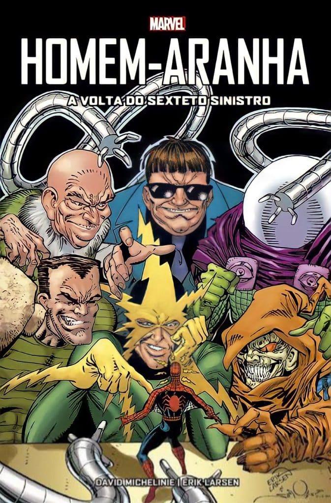 A volta do Sexteto Sinistro em Homem-Aranha