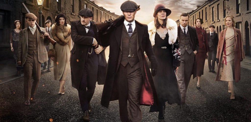 Personagens de Peaky Blinders da Netflix