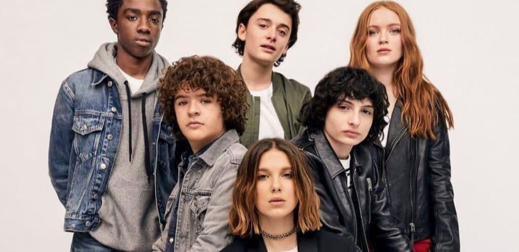 Elenco principal da 4ª temporada de Stranger Things da Netflix