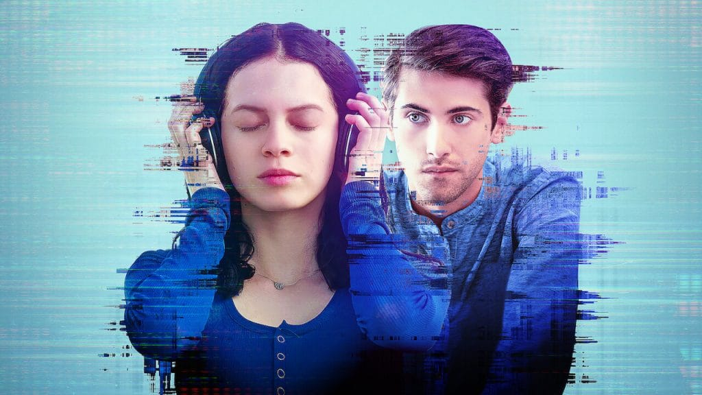 Sofia e Raúl em Control Z da Netflix