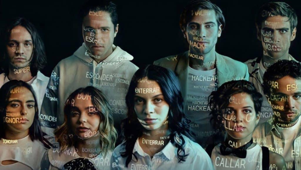 Elenco da 2ª e 3ª temporada de Control Z da Netflix