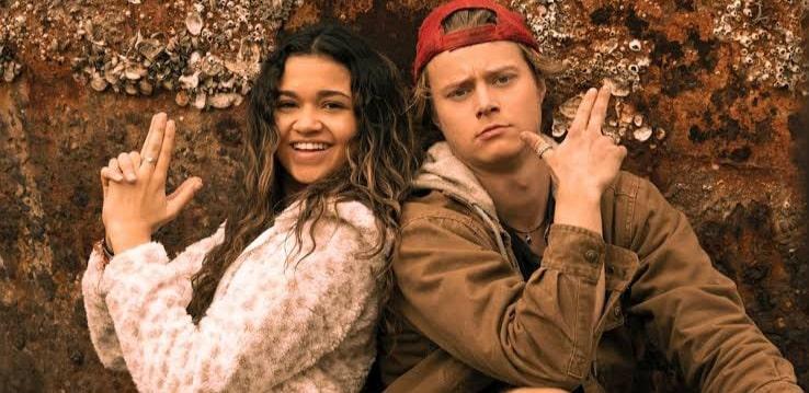 Kiara e JJ serão casal na 3ª temporada de Outer Banks da Netflix