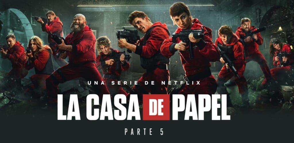 Elenco da 5ª temporada La Casa de Papel da Netflix