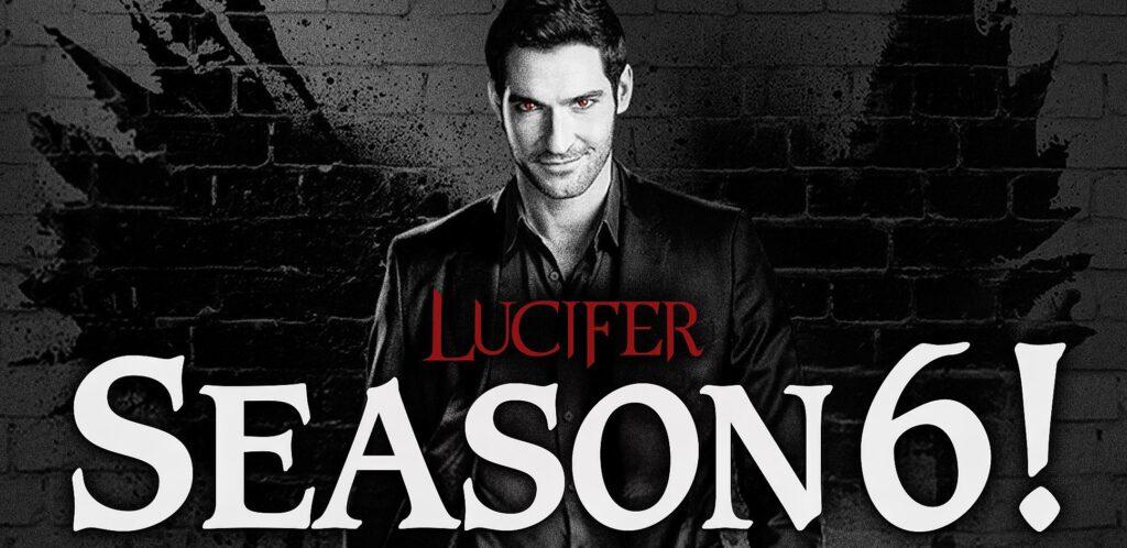 Banner da 6ª temporada de Lucifer da Netflix