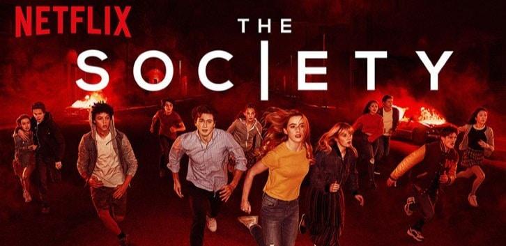 Banner oficial de The Society da Netflix