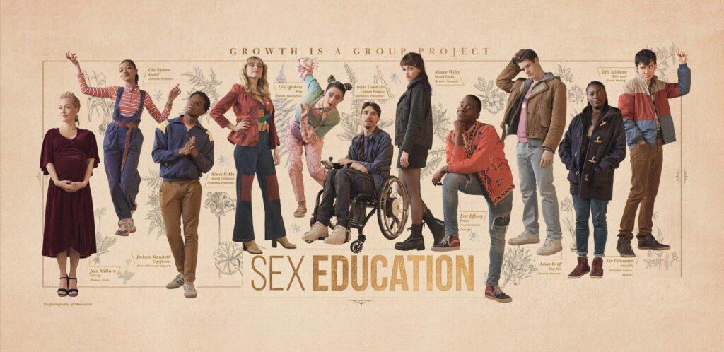 Banner 4ª temporada de Sex Education da Netflix