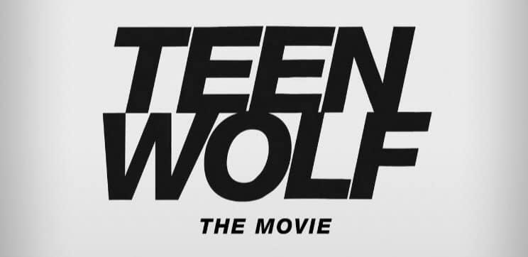 Logo provisório e oficial do filme de Teen Wolf no Paramount+