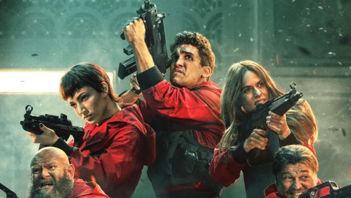 5ª temporada de La Casa de Papel Parte 2 data de estreia