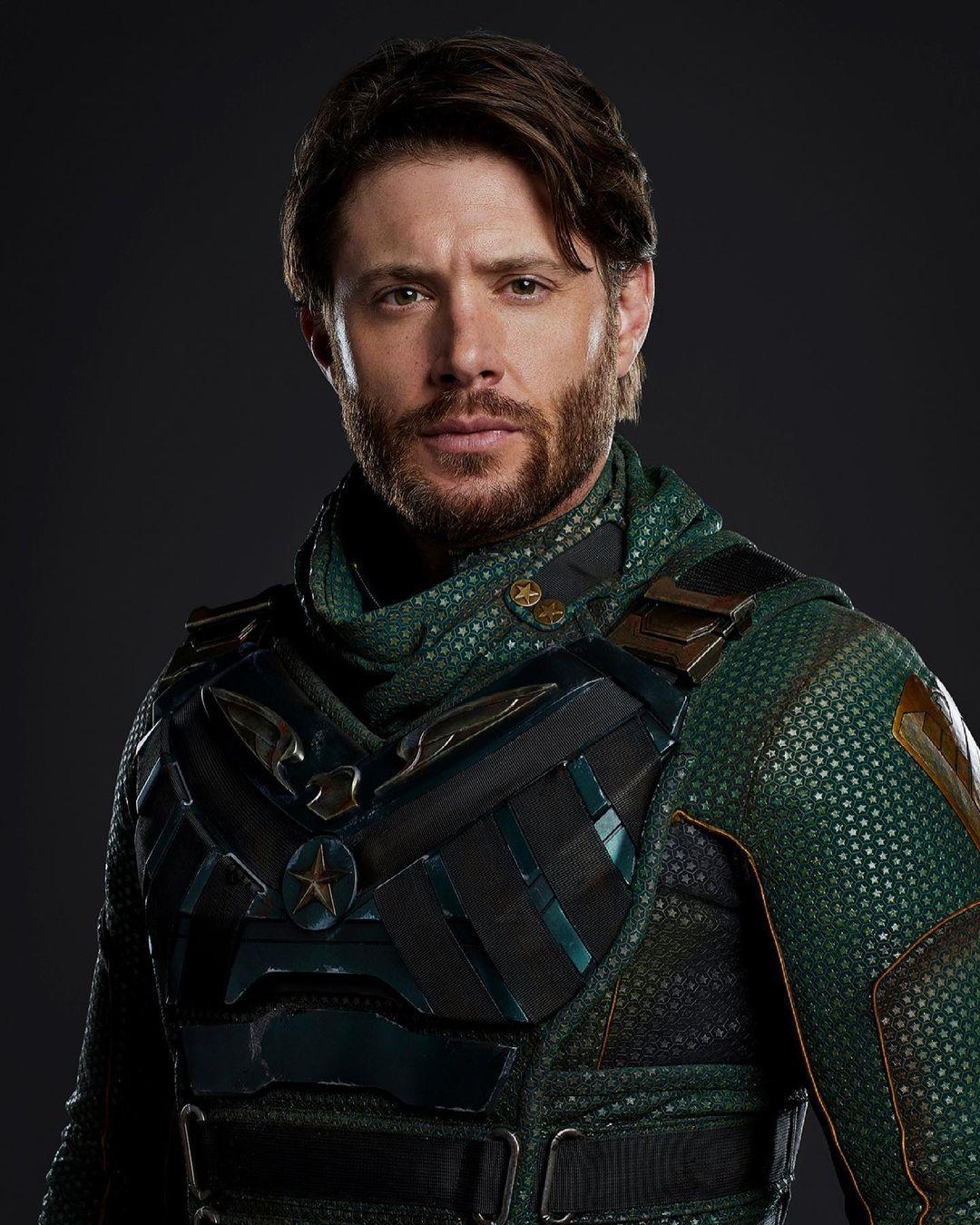 Jensen Ackles como Soldier Boy na 3ª temporada de The Boys do Amazon Prime Video