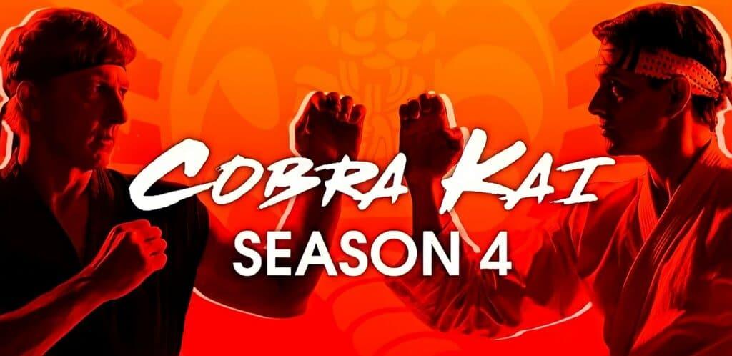 Banner da 4ª temporada de Cobra Kai da Netflix