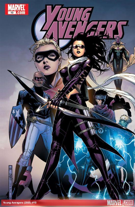 Kate Bishop em Os Novos Vingadores